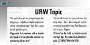 URW Topic font download