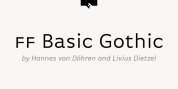 FF Basic Gothic Pro font download