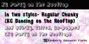 KG Party On The Rooftop font download