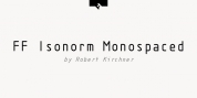 FF Isonorm Monospaced Pro font download