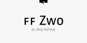 FF Zwo Pro font download
