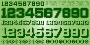 Display Digits Two font download