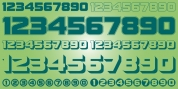 Display Digits Ten font download