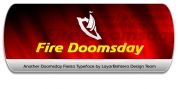 Fire Doomsday font download