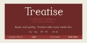 Treatise font download