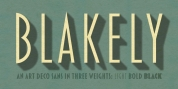 Blakely font download