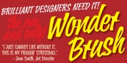 Wonder Brush font download