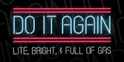 Do It Again font download