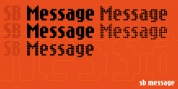 SB Message font download