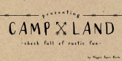 Campland font download