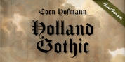 Holland Gothic font download