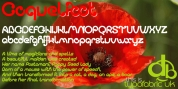 Coquelicot font download
