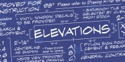 Elevations BB font download