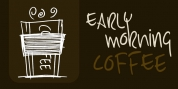 Early Morning Coffee font download