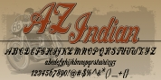 AZ Indian font download