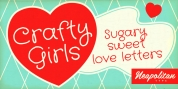 Crafty Girls Pro font download