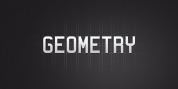 Geometry font download