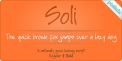 Soli Px font download