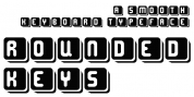 Rounded Keys font download