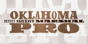Oklahoma Pro font download