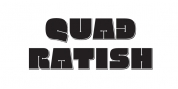 Quadratish font download