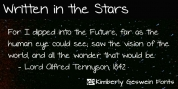 Written In The Stars font download