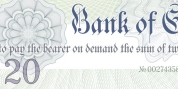 Bank Of England font download