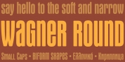 Wagner Round font download