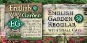 English Garden SG font download