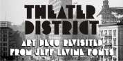 Theater District JNL font download