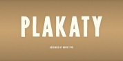 NT Plakaty font download