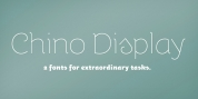 ITC Chino Display font download