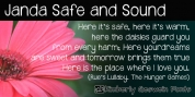 Janda Safe And Sound font download