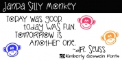 Janda Silly Monkey font download
