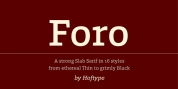 Foro font download