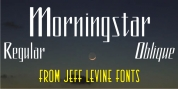 Morningstar JNL font download