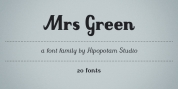 Mrs Green font download