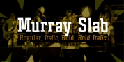 Murray Slab font download
