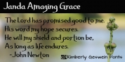 Janda Amazing Grace font download