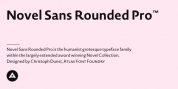 Novel Sans Rounded Pro font download