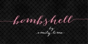 Bombshell Pro font download
