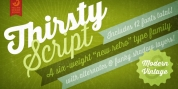 Thirsty Script font download