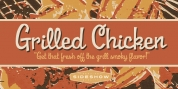 Grilled Chicken font download