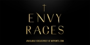 Envy Races Gold font download