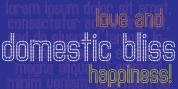 Domestic Bliss font download