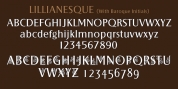 Lillianesque font download