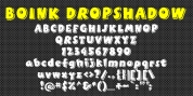 Boink Dropshadow font download