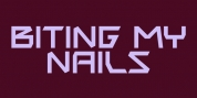 Biting My Nails font download