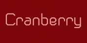 Cranberry Gin font download