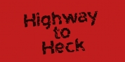 Highway To Heck font download